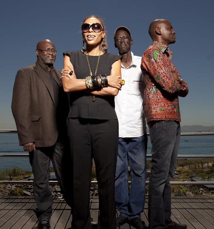 Cape Town --- with my fellow West African DNA brothers photo Richard Keppel Smith