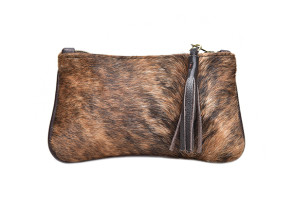 Kaya hide clutch bag