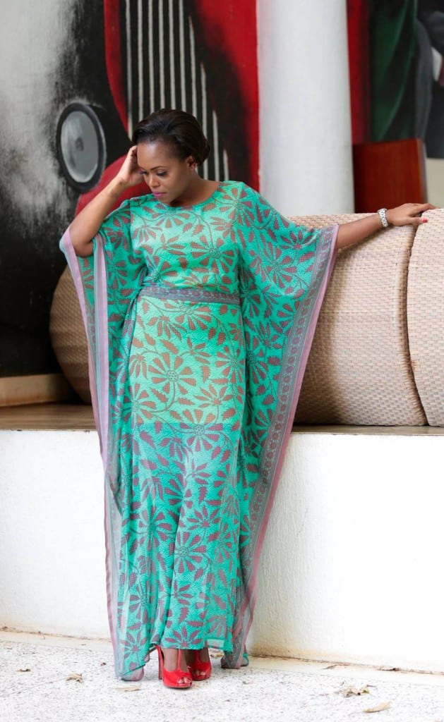 Diana Opoti's 100 days of African Fashion