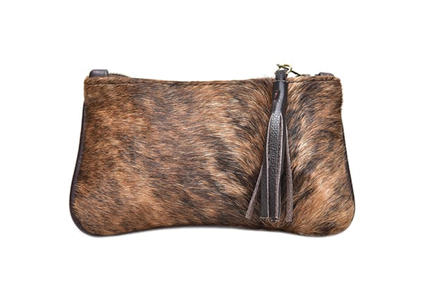 Our KAYA purse made out of hide