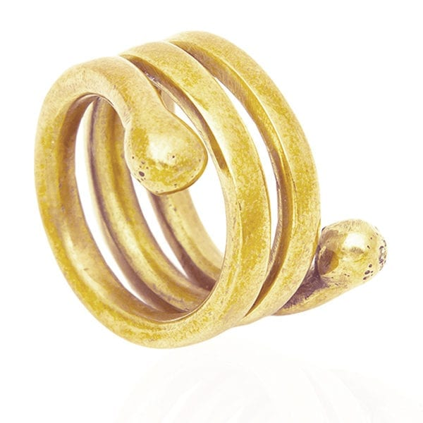 Sani brass ring