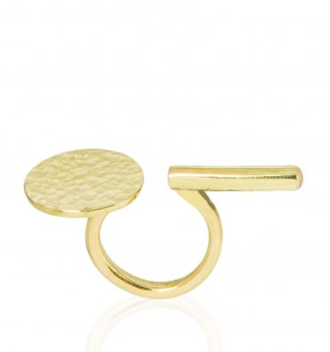 L-Tina Ring Brass