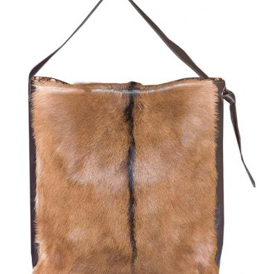 L-Adelina large cow hide bag