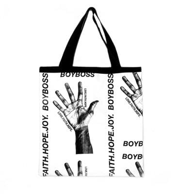BoyBoss shoppers handmade with love