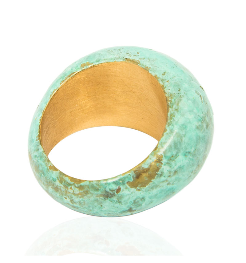 Chunky Brass Fantia Patina Ring Shop Online Adele Dejak Jewellery A collection of animated interpretations of great works of western classical music. chunky brass fantia patina ring